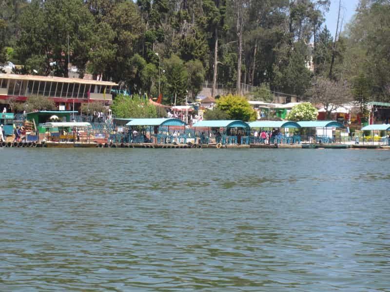 Boating at the Pulicat Lake