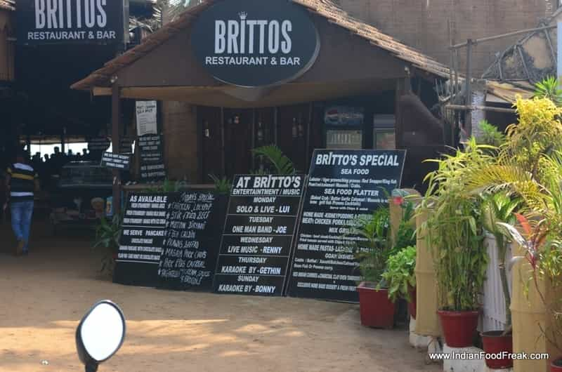 Britto's is a famous bar in Goa