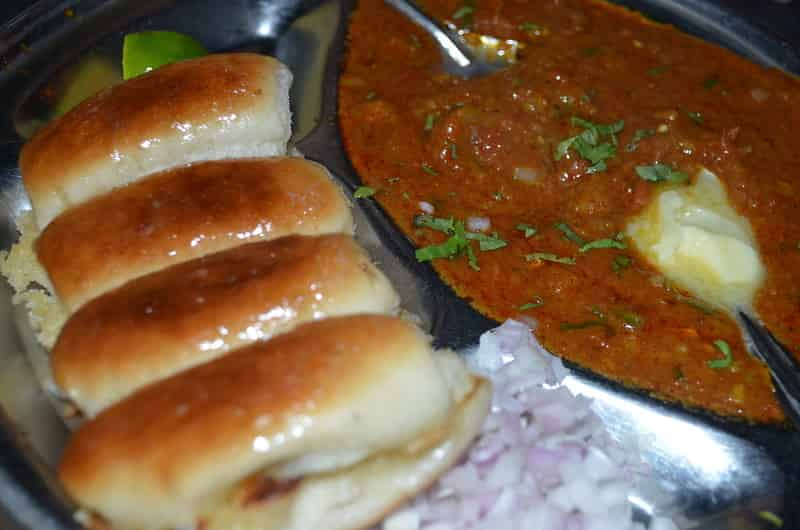 Buttery Pav Bhaji