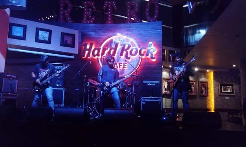 Catch some great performances at The Hard Rock Cafe