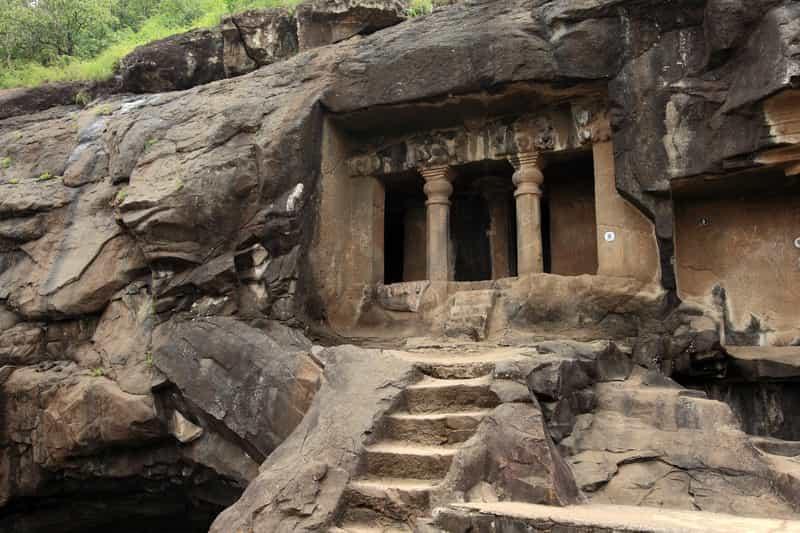 Caves at Nashik from 3rd BC