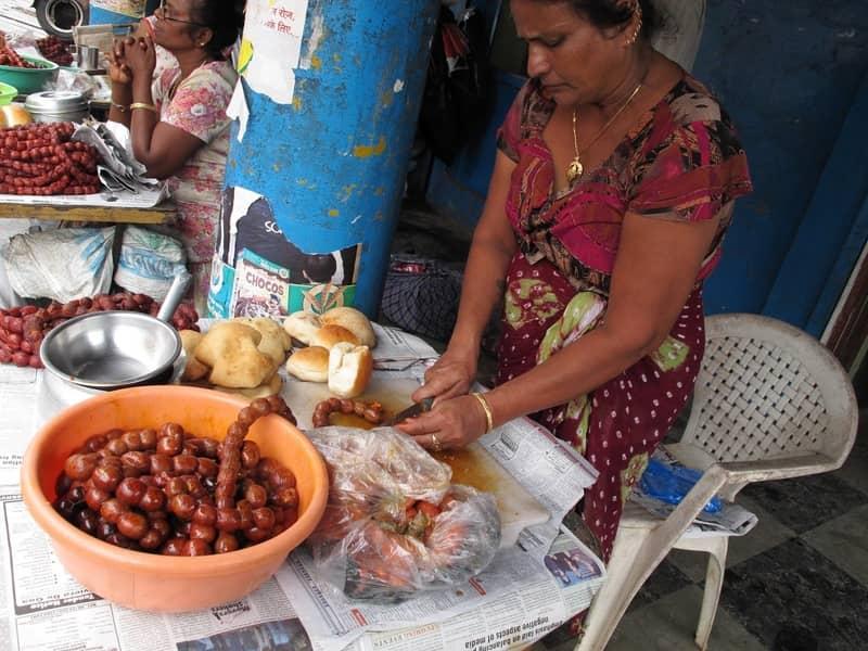 Choris Pav is a popular street food in Goa