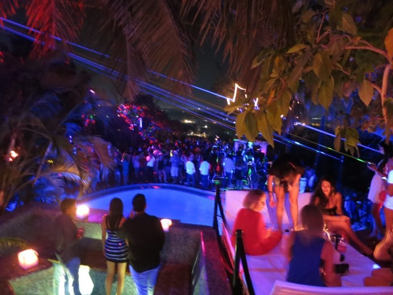 Club Cubana is well-known for its pool parties