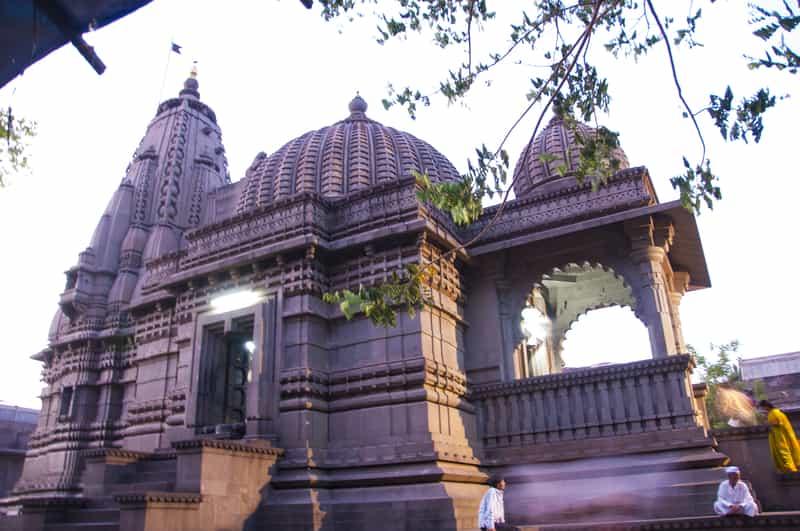 Devotees at the Kalaram Temple