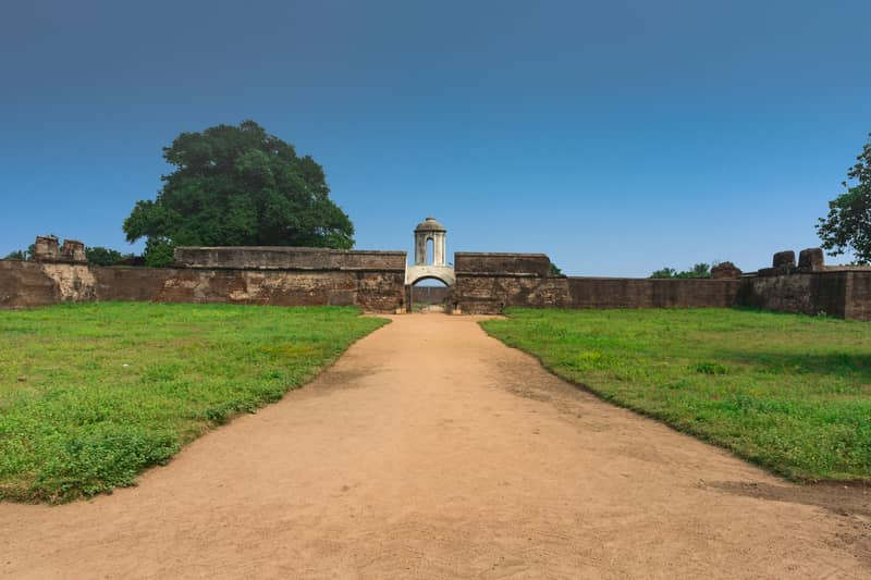 Entrance to the Sadras Dutch Fort