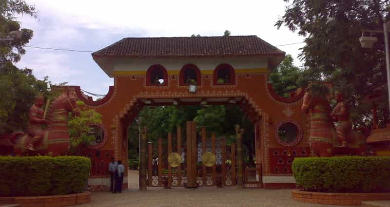 Entrance to the Shilparamam