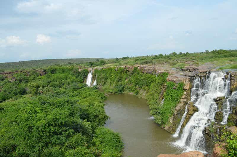 Ethipothala Waterfalls near Nagarjuna Sagar