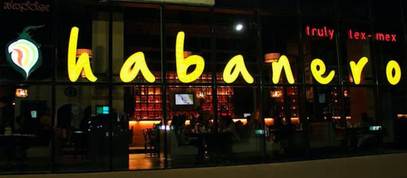 For good food and good entertainment, visit Habanero