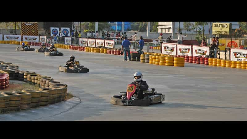 Go Karting at Runway 9