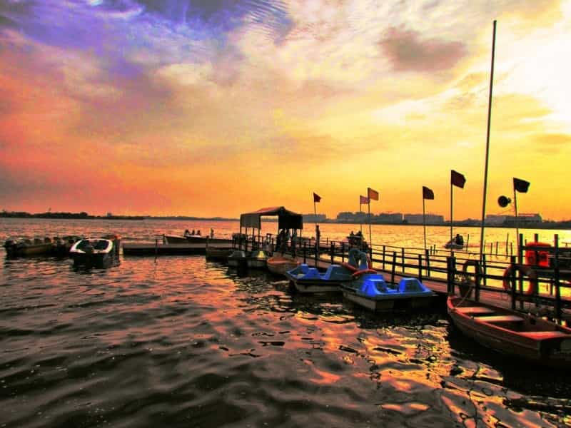 Go boating at Muttukadu