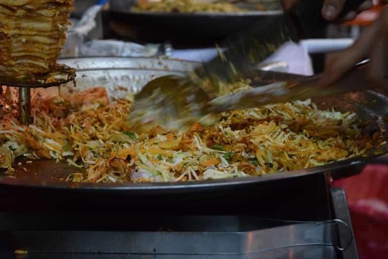 Goa has good street food options