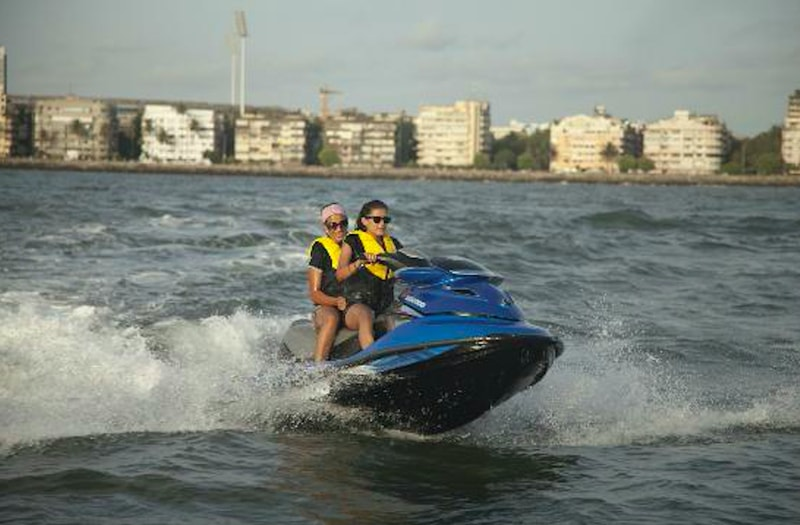Have a ball on the jet ski in Mumbai