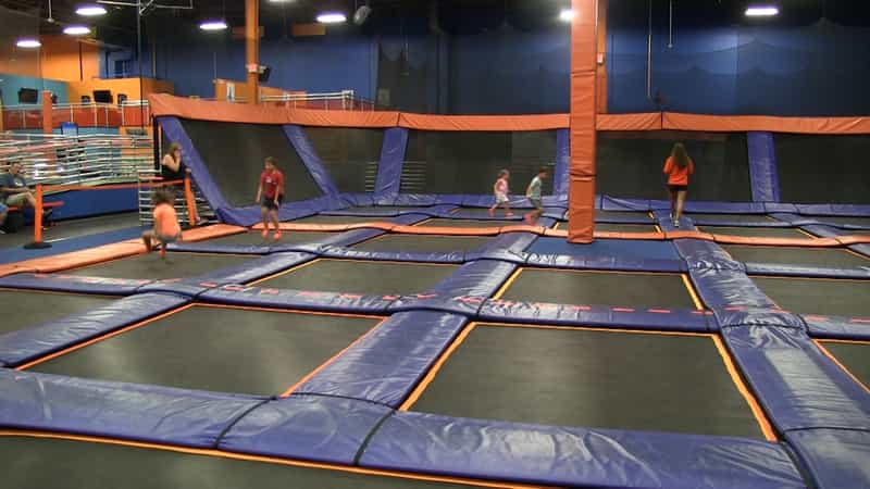 Have a thrilling weekend at Sky Zone Trampoline Park