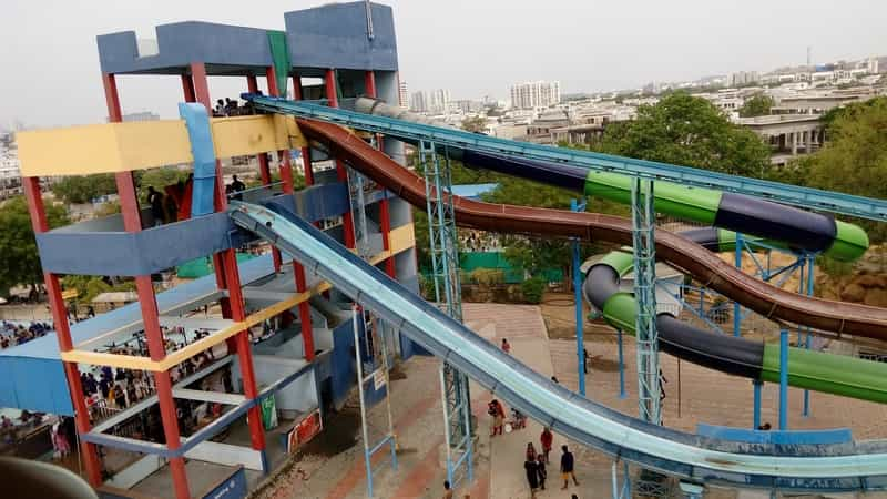 Hop onto thrilling slides at Ocean Park
