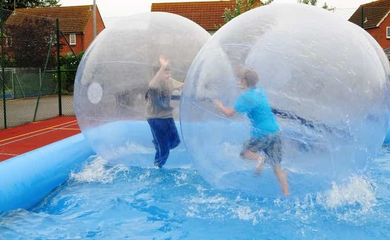 Hyderabad has options for aqua zorbing, too