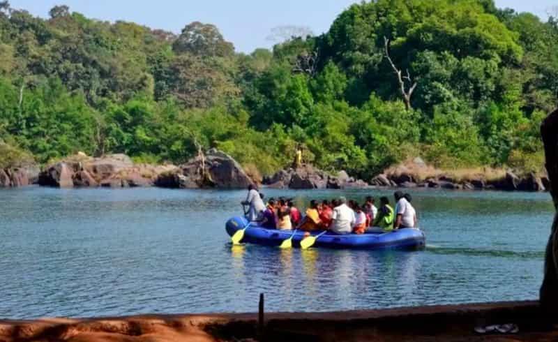 Indulge in water sports at Dandeli