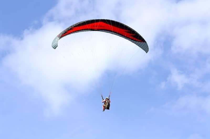 Kamshet is paragliding heaven