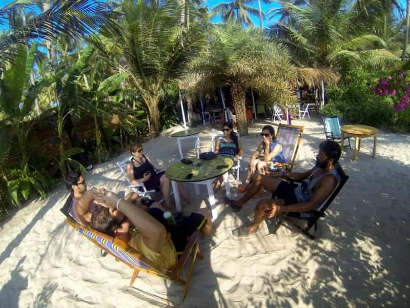 La Plage Beach Shack in Ashvem