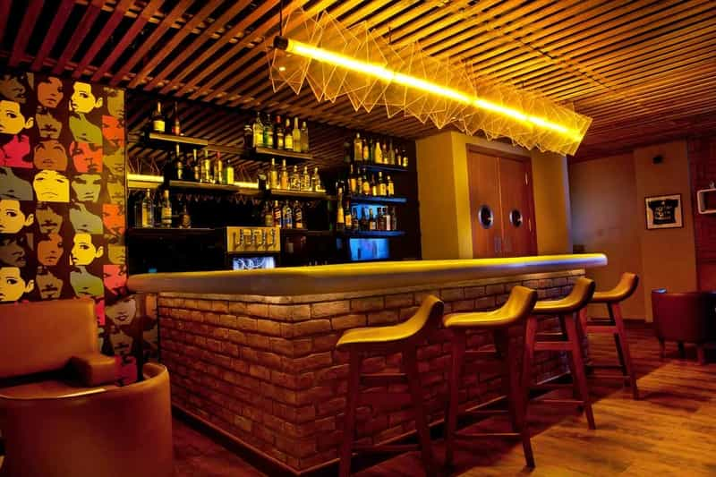 Located in Lemon Tree Hotel, S Lounge is a fast favourite among locals