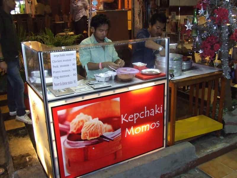 Momos at Kepchaki Momos