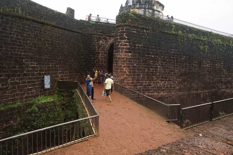 Outer Wall of Fort Aguada