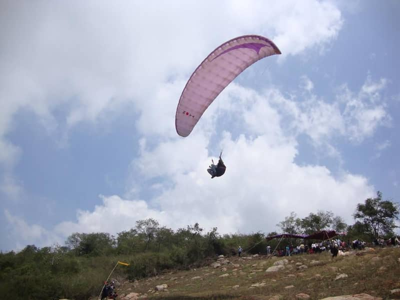 Paragliding at Yelagiri