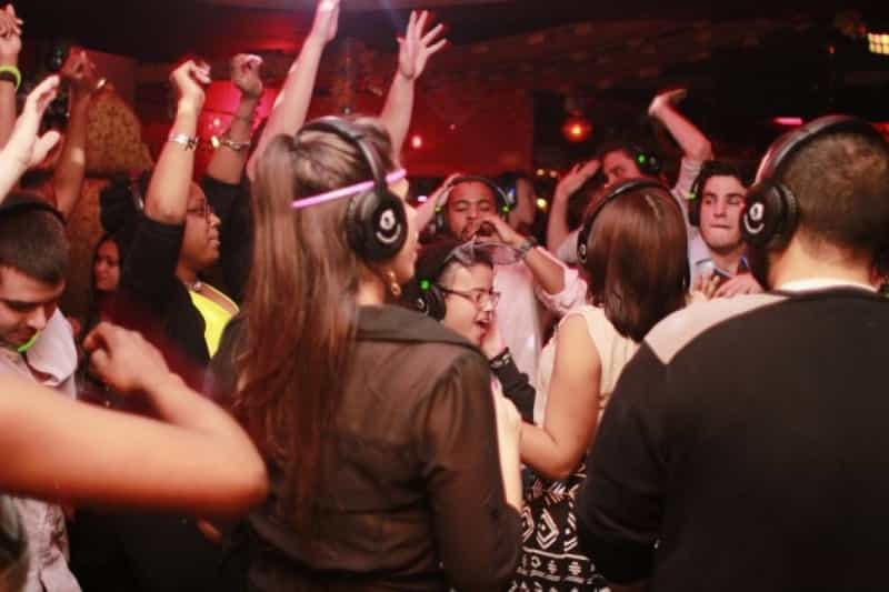 Party hard to your favourite music in complete silence