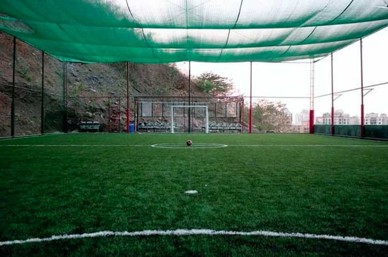 Play a game of football with your gang of friends at a football turf