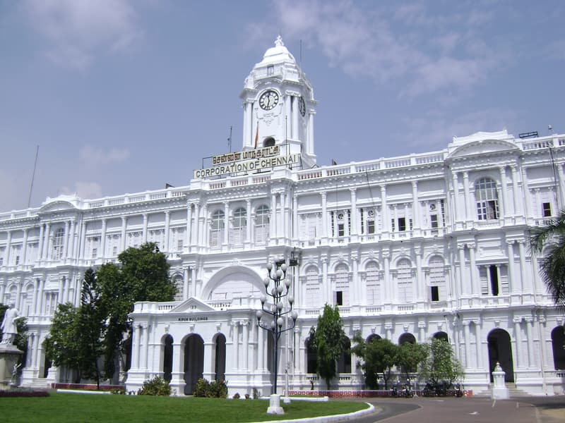 The seat of the Chennai Corporation