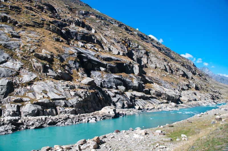 Route from Manali To Leh