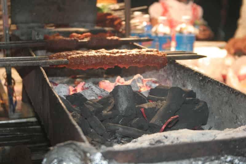 Seekh Kebabs Freshly Grilled