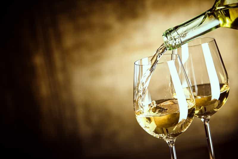 Serving White Wine