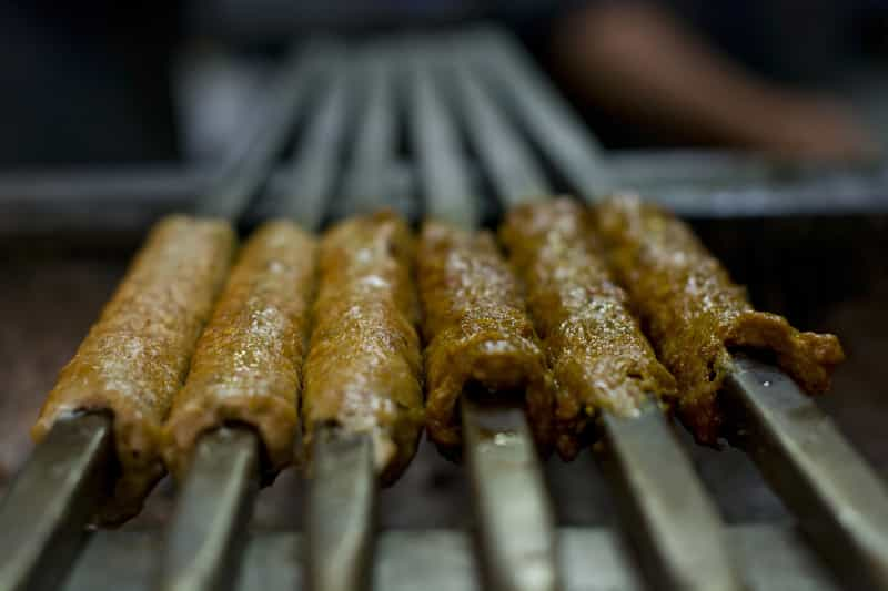 Succulent and delicious kebabs