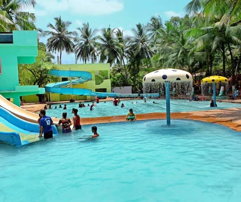 Swimming pool at Anand Resorts