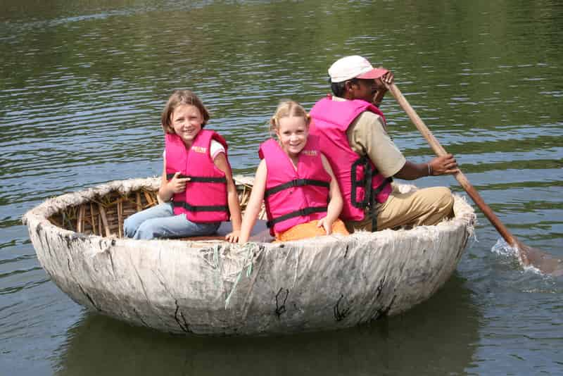 Take A Ride In A Coracle