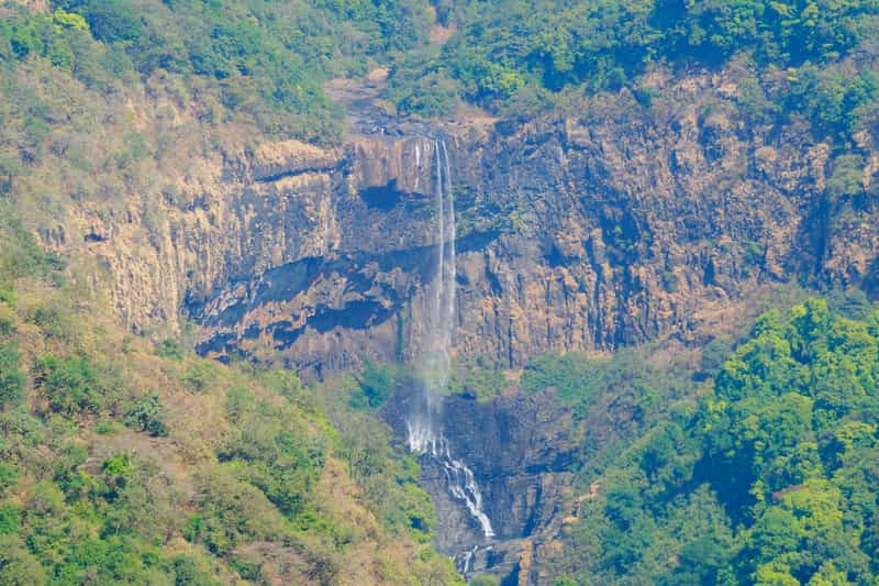 Tambdi Surla Waterfalls from the viewpoint