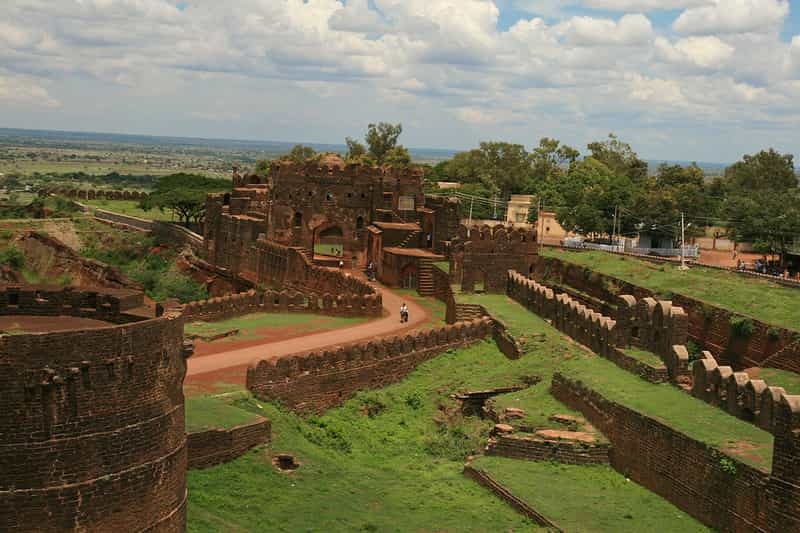The Bidar Fort is famous for its Karez Water System