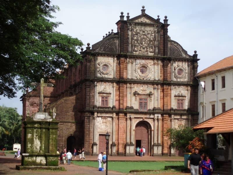 The Bom Jesu Church in Goa