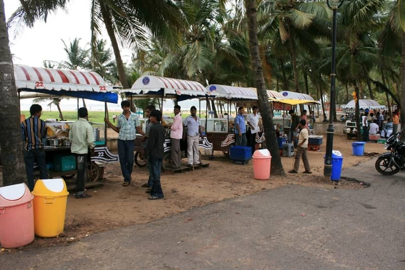 The Bombay Pav Bhaji is popular among Indian tourists