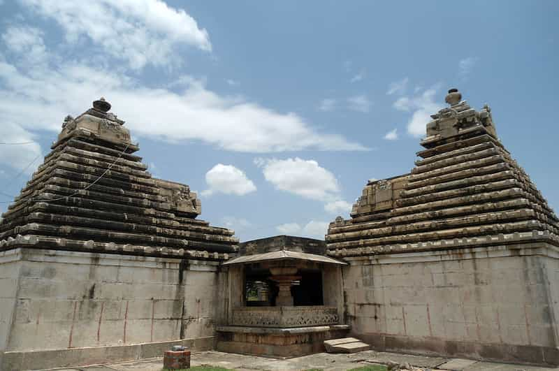 The Chaya Someswara Temple is a famous temple in Hyderabad