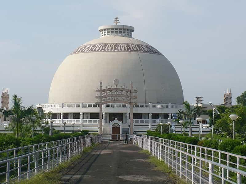 The Deekshabhoomi stupa