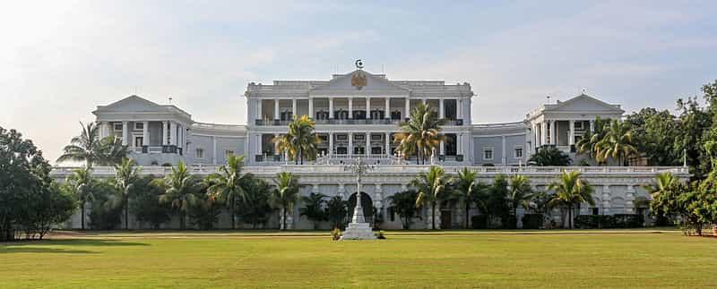 The Falaknuma Palace will have you feeling like royalty
