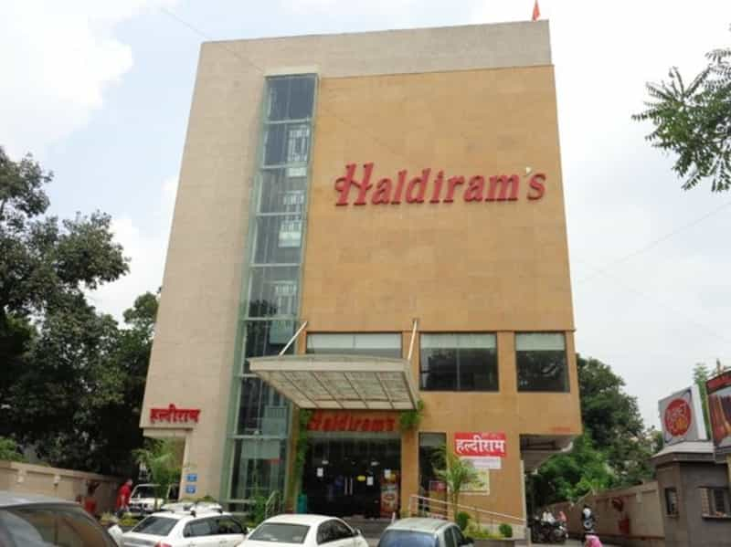 The Haldiram's building in Nagpur