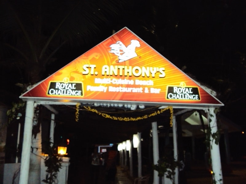 The Karaoke night at St. Anthony's in legendary