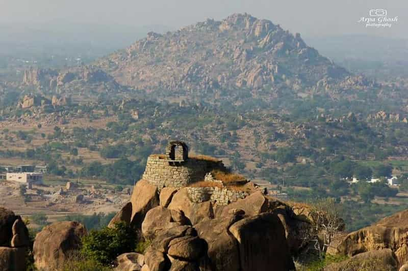 The Koilkonda Fort summit
