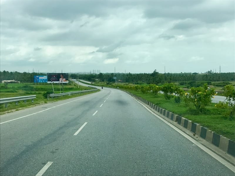 The NH 48 is a good road to ride on