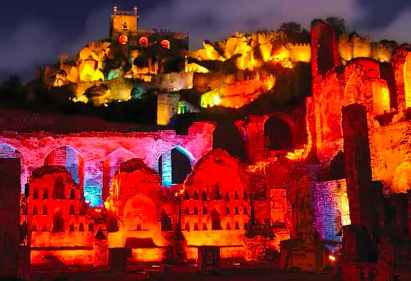 The Sound & Light Show at Golconda is a must-see event