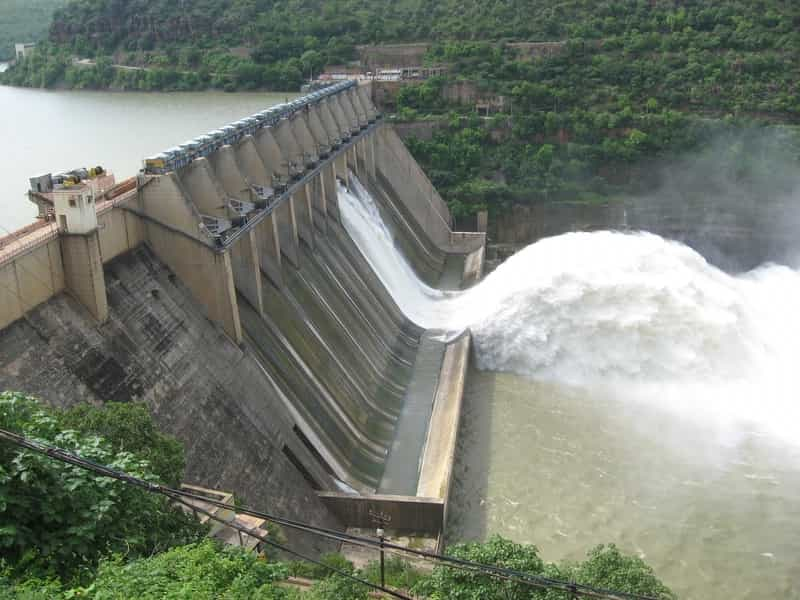 The Srisailam Dam