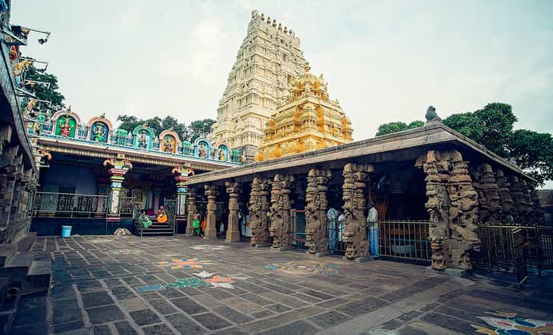 The Srisailam Devasthanam is a must visit if you are in Srisailam