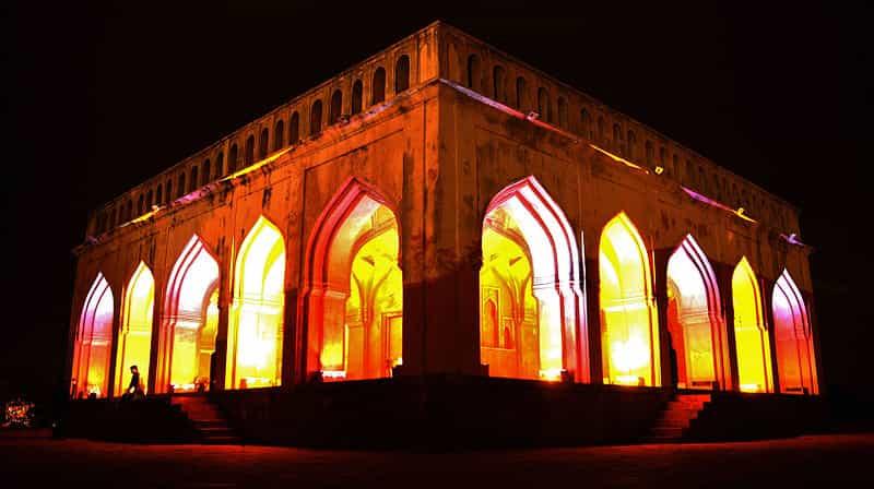 The Taramati Baradari at Night